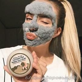 Пузырьковая маска Elizavecca Milky Piggy Carbonated Bubble Clay Mask (оригинал)